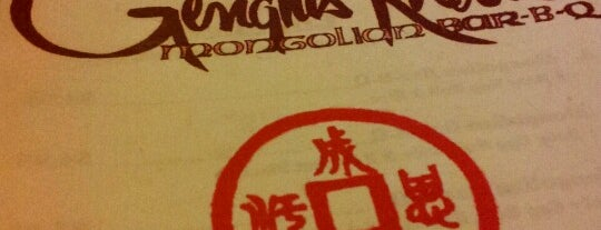 Genghis Khan Mongolian BBQ is one of HairLovers Food to Do list.