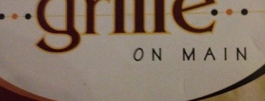 The Grille On Main is one of สถานที่ที่บันทึกไว้ของ Brandon.