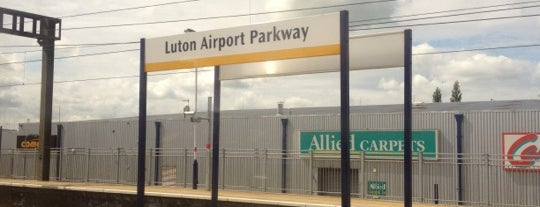Luton Airport Parkway Railway Station (LTN) is one of You calling me a train spotter?.