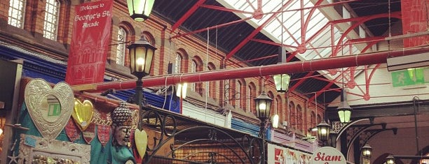 George's Street Arcade Market is one of Dublin.