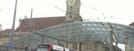 Bahnhofplatz is one of Bern Favorites.