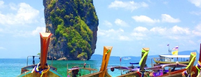 Poda Island is one of Thai.