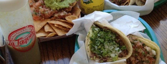 La Taqueria is one of California Love.