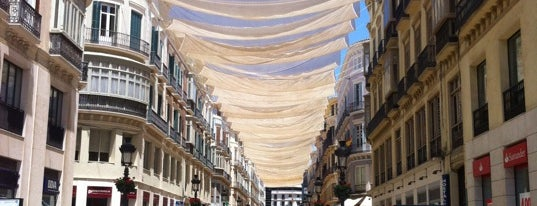 Calle Marqués de Larios is one of Malaga.