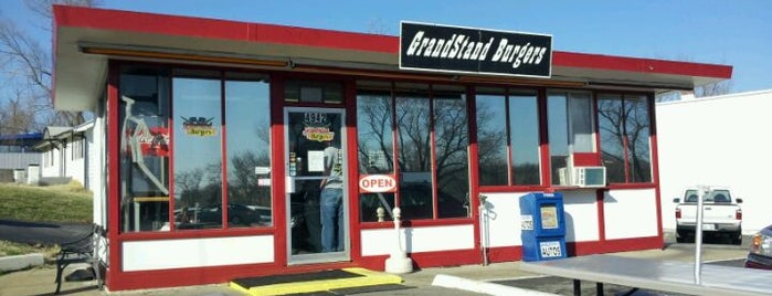 Grandstand Burgers is one of Kansas City.