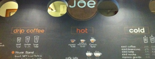 Joe Coffee Company is one of NY Espresso.