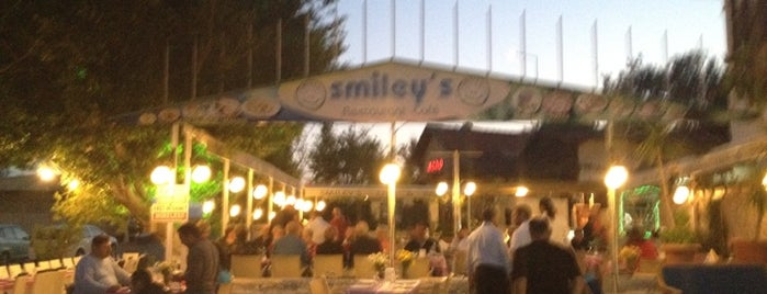 Smiley's is one of Kaş.