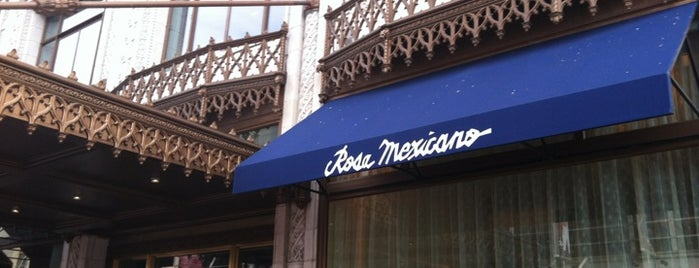 Rosa Mexicano is one of Do this in DC.