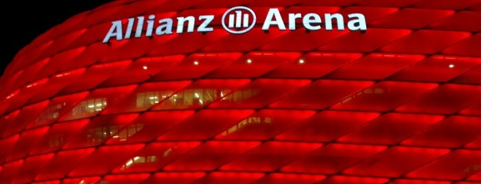 Allianz Arena is one of 100 обекта - Германия.