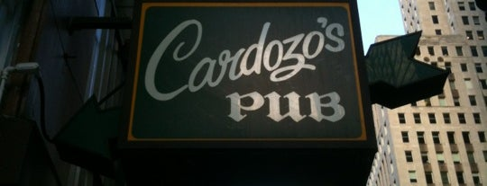 Cardozo's Pub is one of Chicago Restaurant Collection.