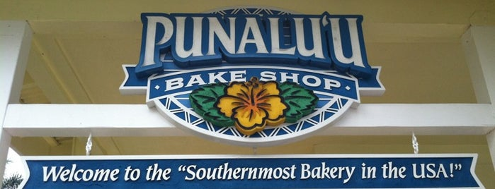 Punalu'u Bake Shop & Visitor Center is one of Big island Hawaii.
