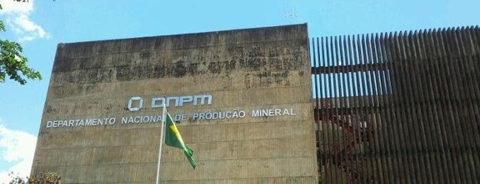 DNPM - Departamento Nacional de Produção Mineral is one of Posti che sono piaciuti a Rogerio.