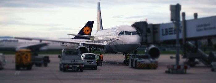 Stuttgart Manfred Rommel Airport (STR) is one of AIRPORT.