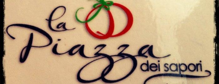 "Pizzeria - Ristorante ""La Piazza dei Sapori"" is one of Locais salvos de Manuel."
