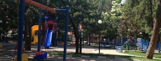 Metin Oktay Parkı is one of Elif Merve : понравившиеся места.