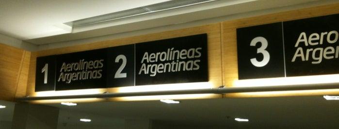 Aeropuerto de Trelew - Almirante Marcos A. Zar (REL) is one of Patagonia (AR).