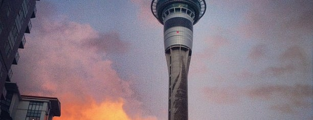 Sky Tower is one of Lugares favoritos de Hugo.