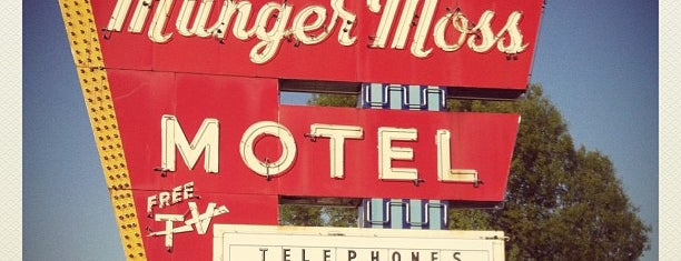 Munger Moss Motel is one of Historic Route 66.