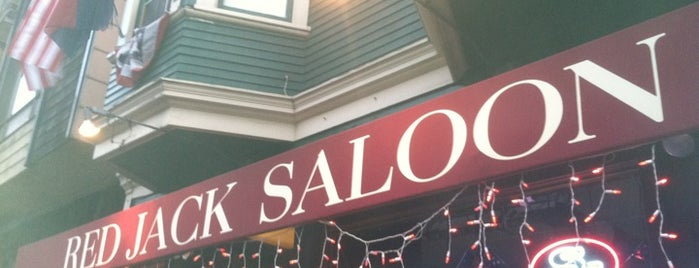 Red Jack Saloon is one of Boston Sports Bars in San Francisco.
