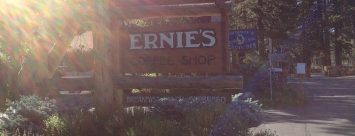 Ernie's Coffee Shop is one of Tahoe.