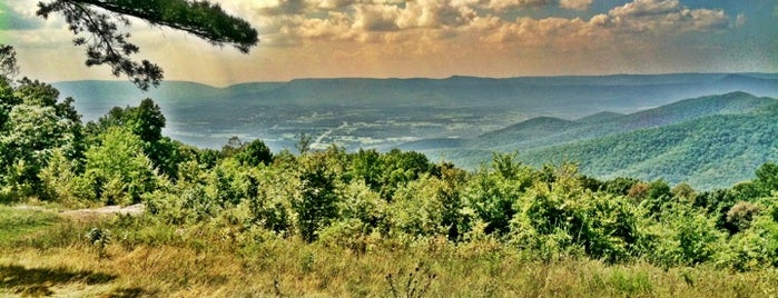Shenandoah National Park is one of National Recreation Areas.