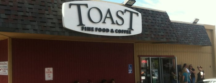 Toast Fine Food & Coffee is one of Chip : понравившиеся места.