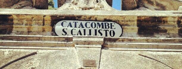 Catacombe di San Callisto is one of Italia to-do🇮🇹🍝🍕.