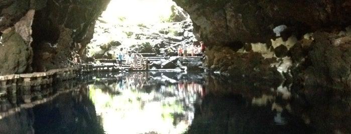 Jameos del Agua is one of Qué visitar en Lanzarote.