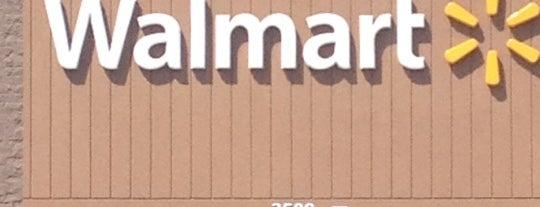 Walmart Supercenter is one of work.