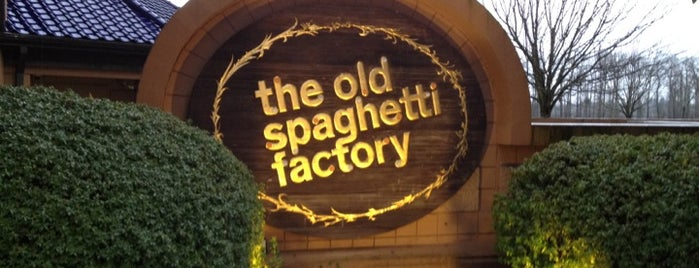 The Old Spaghetti Factory is one of Portland trip.