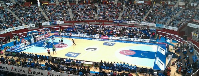 San Sebastian Arena 2016 is one of Pabellones de baloncesto.