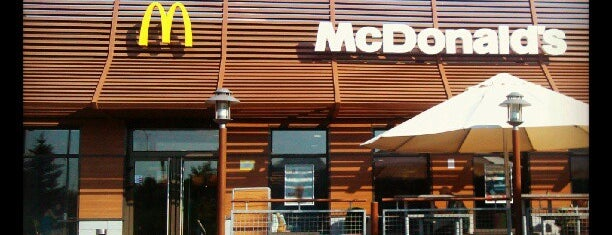 McDonald's is one of Lieux qui ont plu à Евгений.