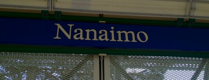 Nanaimo SkyTrain Station is one of Locais salvos de Joe.