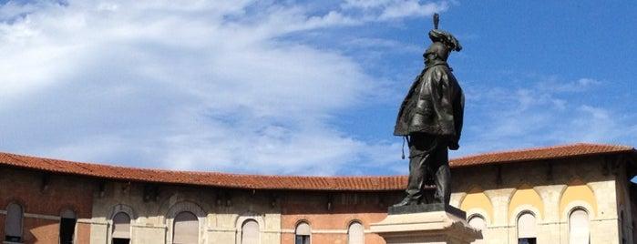 Piazza Vittorio Emanuele II is one of #4sqCities #Pisa - Tips for travellers!.