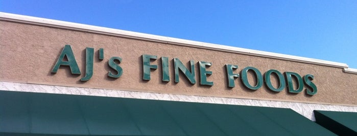 AJ's Fine Foods is one of Arizona.
