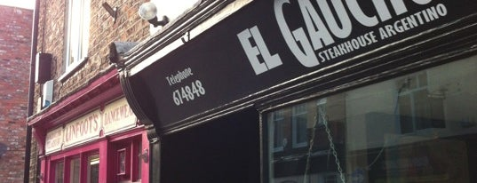 El Gaucho is one of Argentines in the UK.