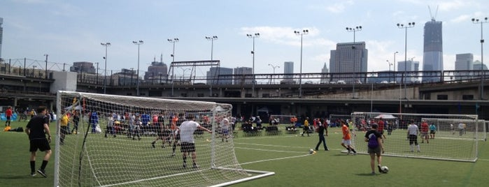 Pier 40 Soccer Fields is one of All My Haunts.