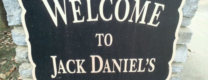 Jack Daniel's Distillery is one of Take Me.
