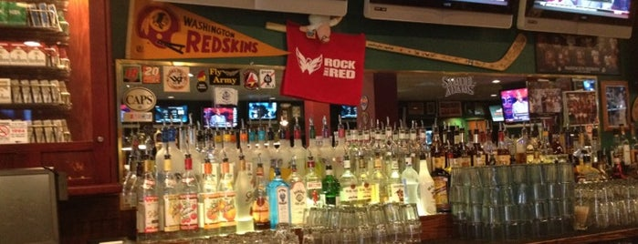 Crystal City Sports Pub is one of Local Redskins Rally Bars.