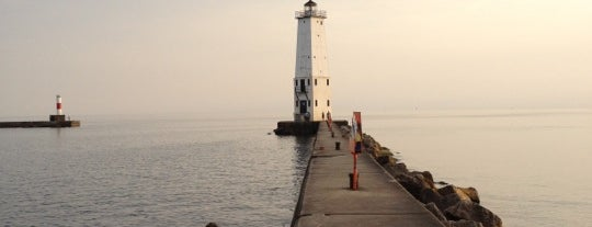Frankfort North Pierhead Lighthouse is one of Coast.