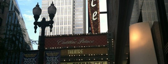 Cadillac Palace Theatre is one of Comedy & Theater in Chicagoland.