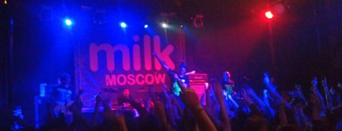 Milk Moscow is one of *★☆★КЛУБЫ☆★☆*.