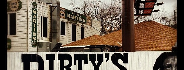 Dirty Martin's Place is one of Lugares favoritos de jeffrey.