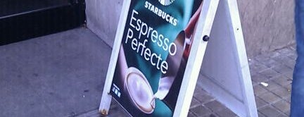 Starbucks Plaza Universitat is one of Wifi places in Barcelona.