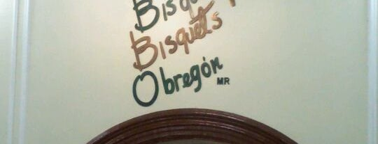 Los Bisquets Bisquets Obregón is one of Mariaさんの保存済みスポット.