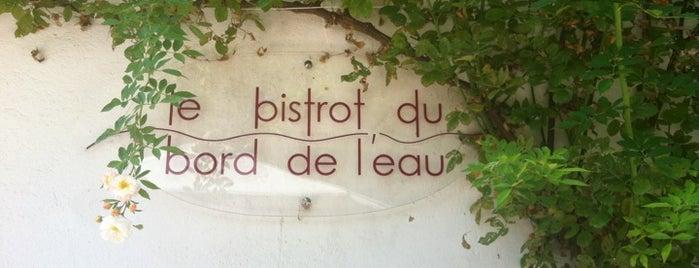 Le Bistrot du Bord de l'Eau is one of Burgund.
