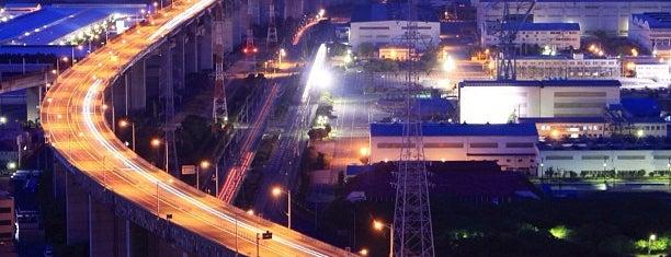 サン・アンジェリーナ is one of 日本夜景遺産.