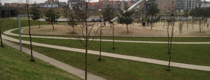 Park Spoor Noord is one of 80 must see places in Antwerp.