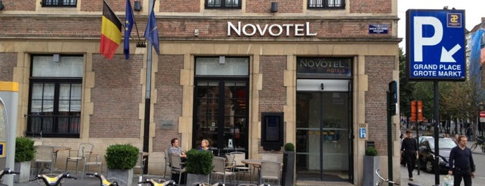 Novotel Brussels off Grand' Place is one of Posti che sono piaciuti a Hideo.