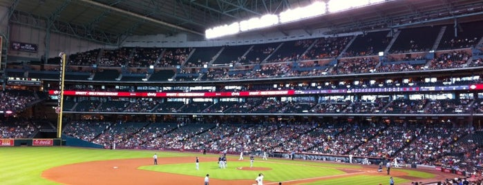 Minute Maid Park is one of Let's Get Romantic.